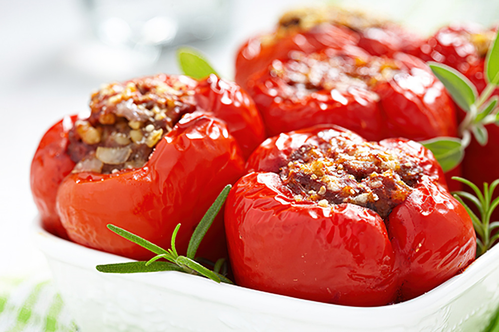 Food and wine pairing recipes ardei umpluti the california wine club recipes ardei umplui romanian stuffed peppers forumfinder Gallery