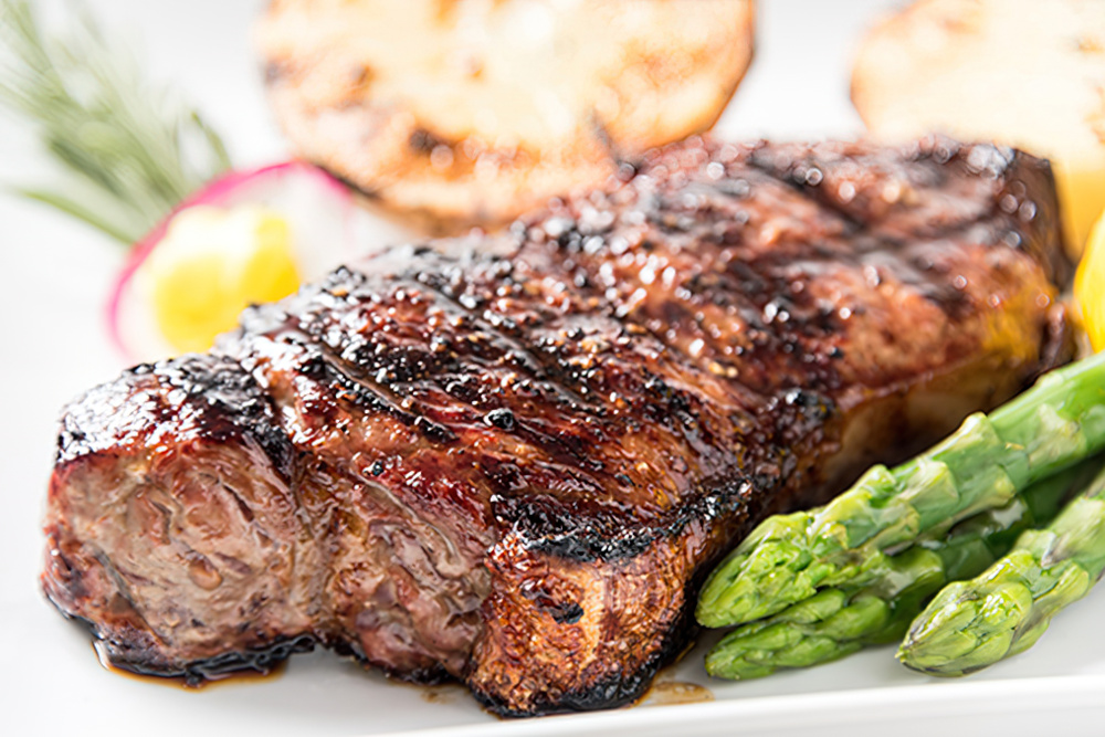 Food and wine pairing recipes new york strip steak the for A new napa cuisine