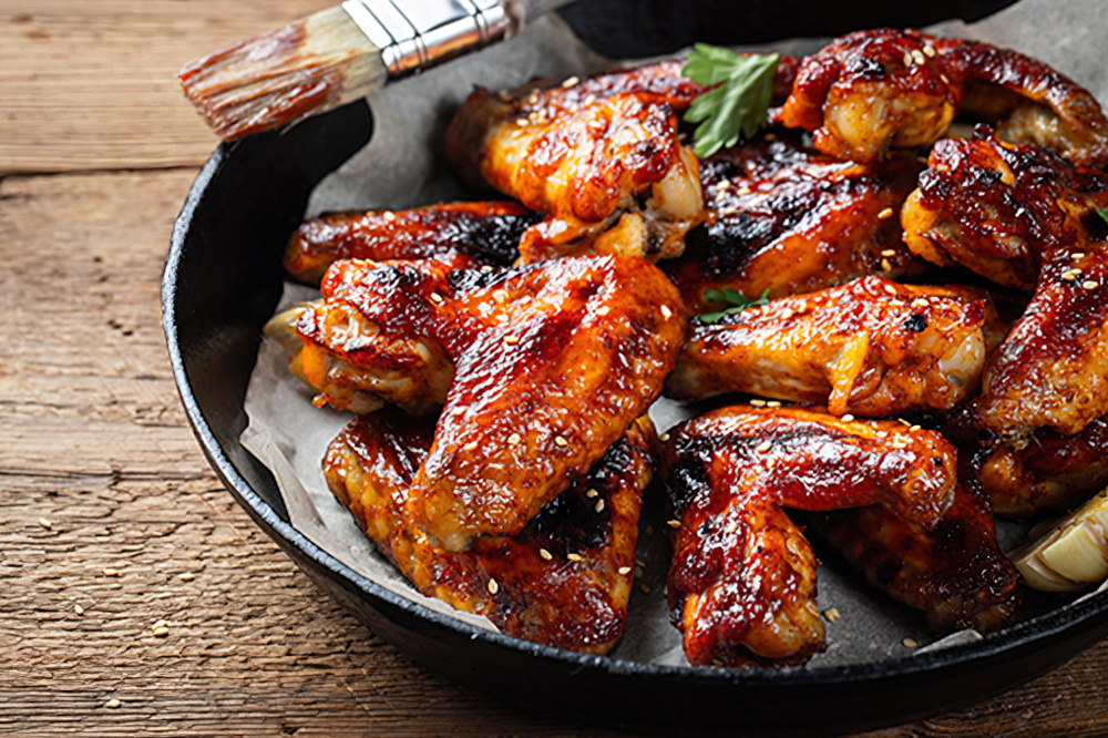 Food And Wine Pairing Recipes Three Rooster Hot Wings The