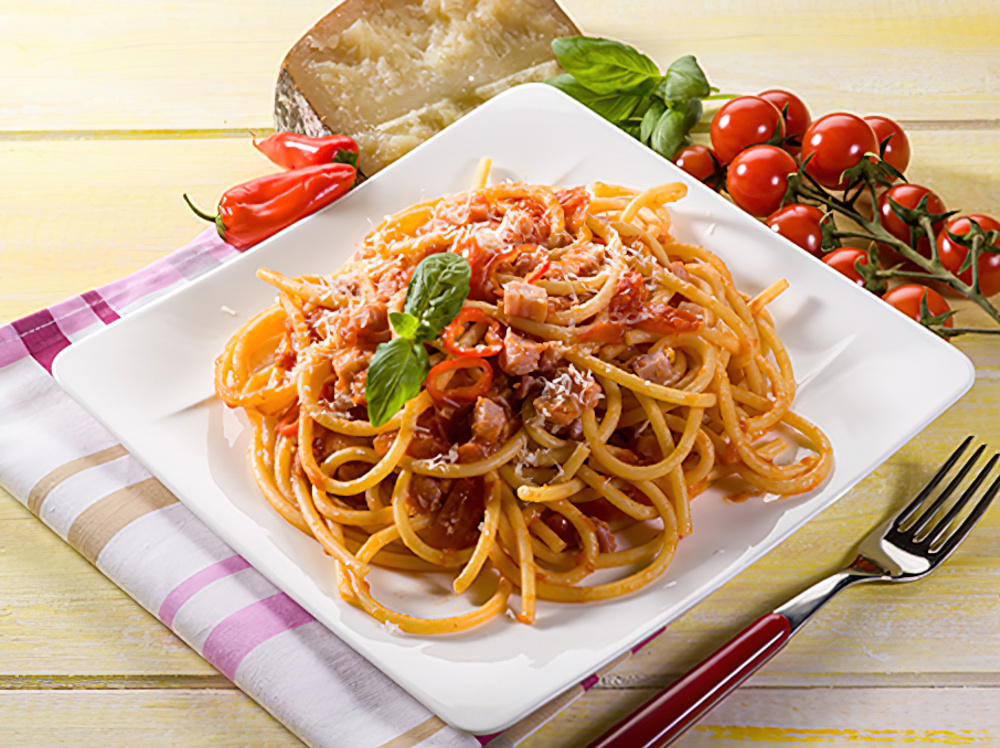 ... Pairing Recipes | Bucatini all'Amatriciana | The California Wine Club